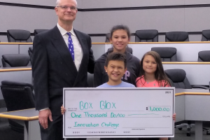 Box Blox™ Awarded 1st Place!